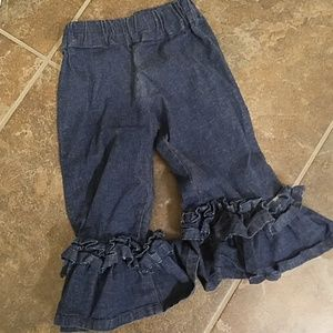 Other - Ruffle Jeans - Toddler Girls